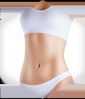 תוצאות ניתוח מתיחת בטן היקפית