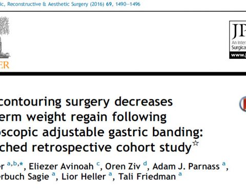 Body-shaping surgery reduces recurrent obesity after bariatric surgery