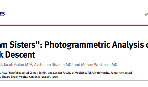 The Brown Sisters Photogrammetric Analysis of Brow